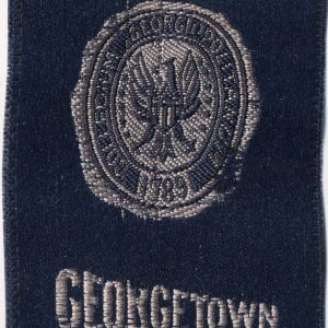 #3445 Georgetown University tobacco silk, 1910