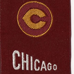 #3609 University of Chicago tobacco silk, 1910