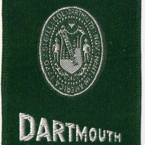 #3611 Dartmouth tobacco silk, 1910