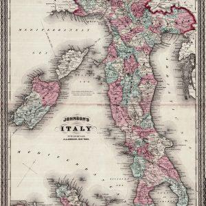 #3695 Italy, 1863