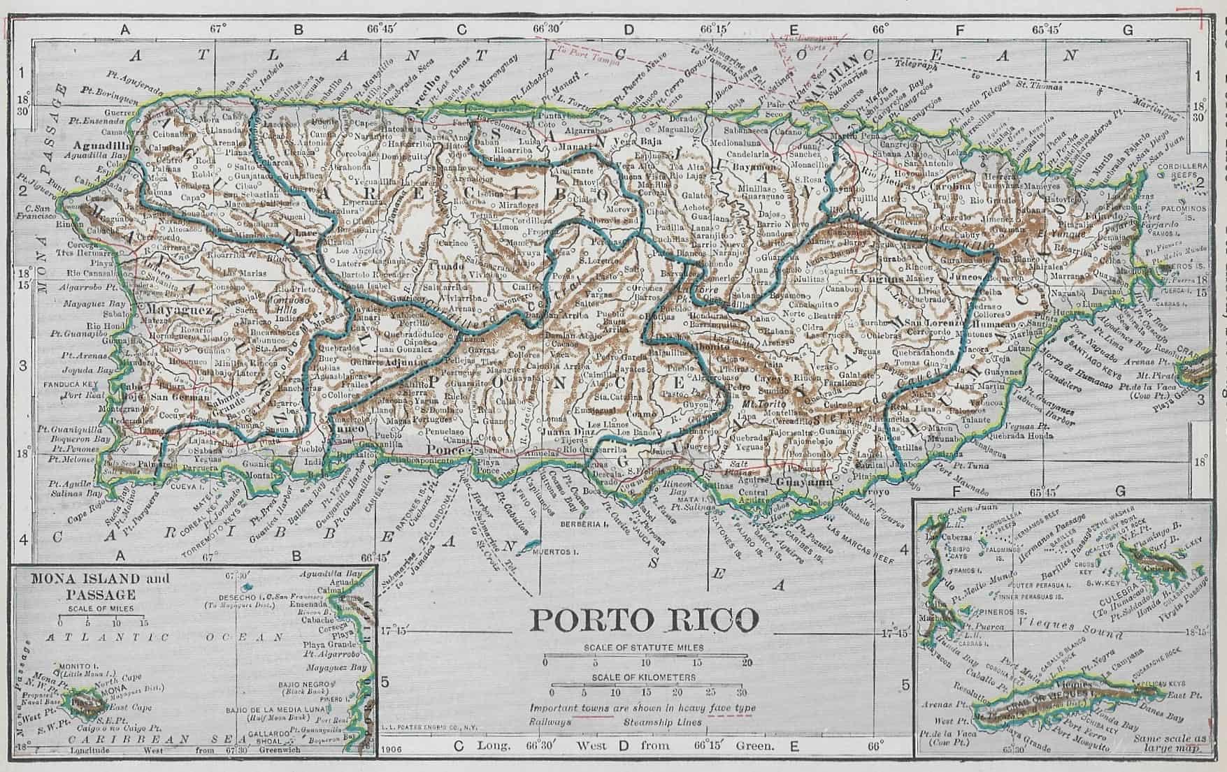 #4213 Puerto Rico 1921