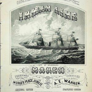 "#1450 ""Inman Line"", 1872"