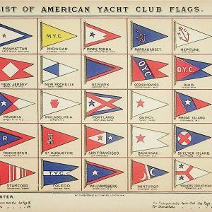 #5317 Yacht Club Flags, 1895/6