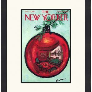 Original New Yorker Cover December 23, 1961