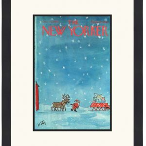 Original New Yorker Cover December 24, 1966