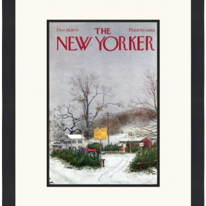 Original New Yorker Cover December 19, 1970