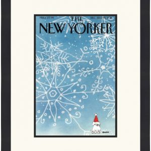 Original New Yorker Cover December 22, 2014