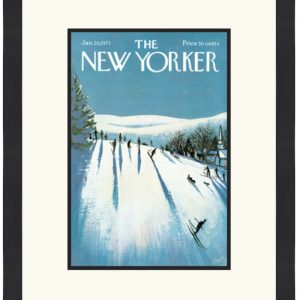 Original New Yorker Cover January 20, 1973