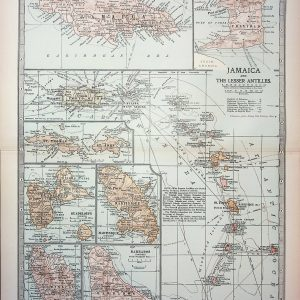 #4379 Jamaica and Caribbean Islands, 1903