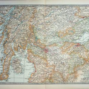 #4550 Scotland (Central Part), 1903
