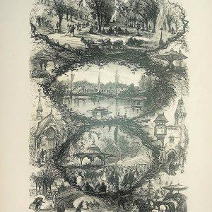 #4970 Scenes in Central Park (New York), 1874