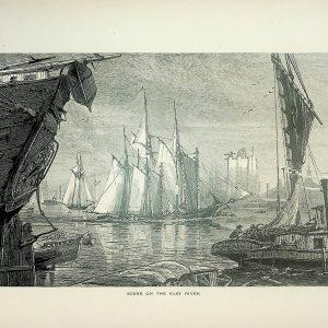 #5110 Scene on the East River (New York), 1874