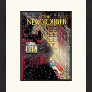 Original New Yorker Cover December 7, 1992