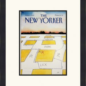 Original New Yorker Cover June 8, 1992
