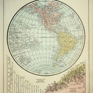 #1957a Western Hemisphere, 1898