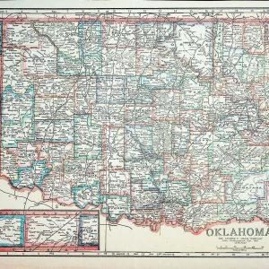 #2512 Oklahoma circa 1919