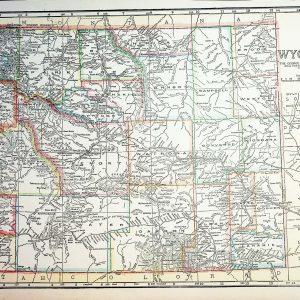 #2525 Wyoming circa 1919