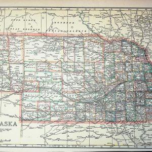 #2525b Nebraska circa 1919