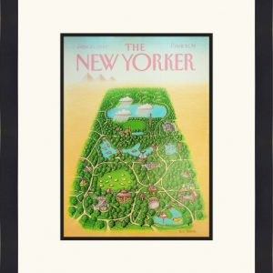 Original New Yorker Cover June 25, 1990