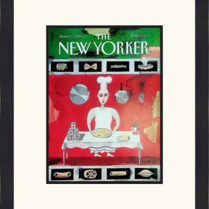 Original New Yorker Cover June 17, 1991