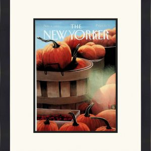 Original New Yorker Cover November 4, 1991