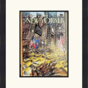 Original New Yorker Cover April 10, 1995