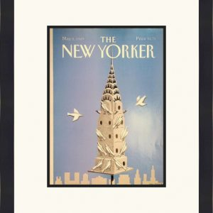 Original New Yorker Cover May 8, 1989