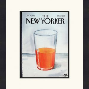 Original New Yorker Cover January 30, 1995