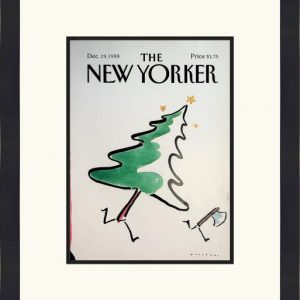 Original New Yorker Cover December 19, 1988