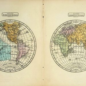 #694 Hemispheres, 1852