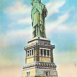 #5386 Statue of Liberty, ca1940s