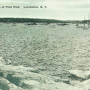#5475 Along the Shore of Flint Park, Larchmont 1938