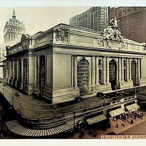 #5489 Grand Central Railroad Station, 1910s