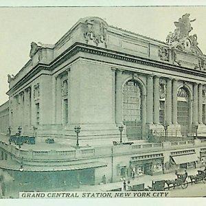 #5584 Grand Central Railroad Station, 1910s