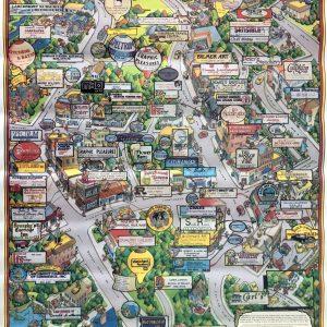 Larchmont Centennial Poster (1891-1991)