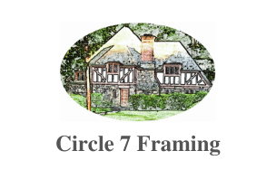 Circle 7 Framing Logo, Larchmont, NY